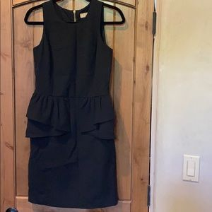 MICHAEL Michael Kors Fitted Black Tank Dress